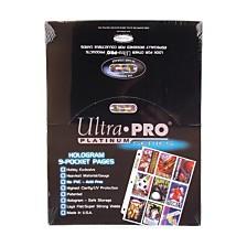 100 Ultra Pro Platinum 9 Pocket Sheets