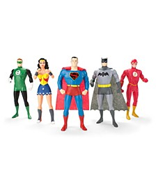NJ Croce Justice League The New Frontier 5 Piece Bendable