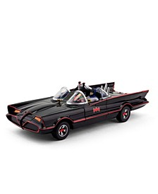 NJ Croce 1966 Batmobile Car With Batman and Robin Mini Bendable Figures