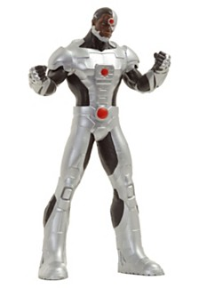 "NJ Croce DC Comics Justice League Cyborg 8"" Bendable Figure"