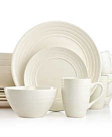 Ripple White 16-Pc. Set, Service for 4