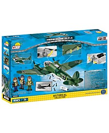 Small Army World War II Heinkel HE 111 P4 Airplane 601 Piece Construction Blocks Building Kit
