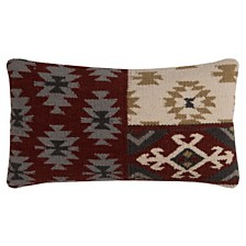 "Rizzy Home 11"" x 21"" Southwest Down Filled Pillow"