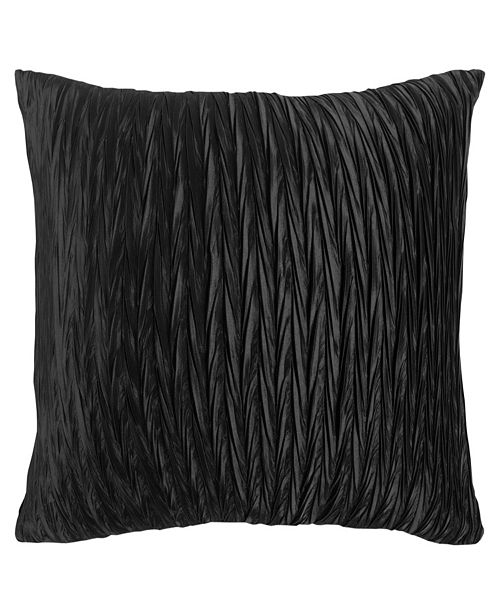 """Rizzy Home 18"""" x 18"""" Solid Braid Down Filled Pillow"""