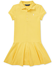Polo Ralph Lauren Big Girls Polo Dress