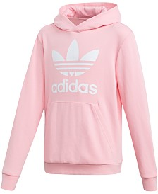 adidas Originals Big Girls Logo-Print Hoodie