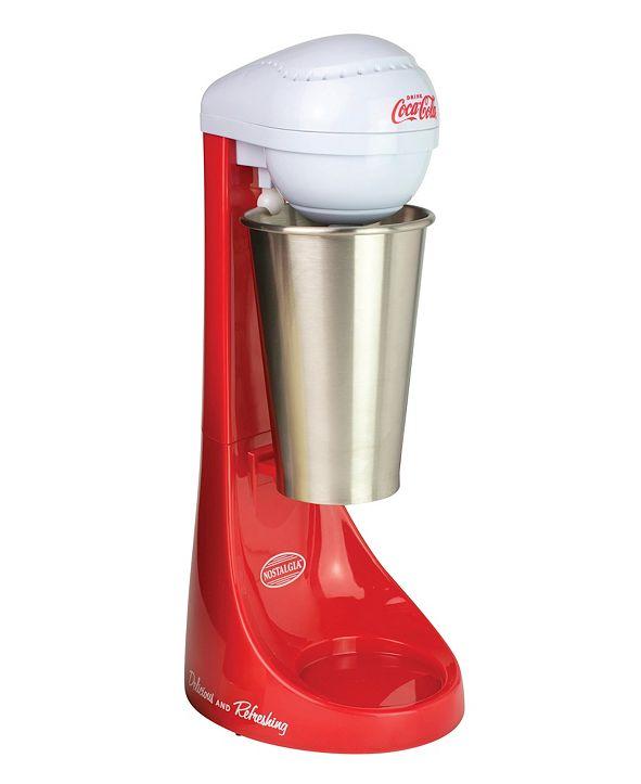 Nostalgia Coca-Cola Limited Edition Two-Speed Milkshake Maker