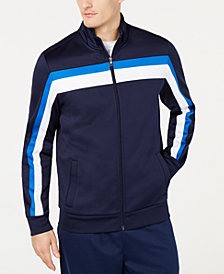 Club Room Men's Stripe Track Jacket, Created for Macy's