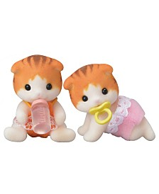 Calico Critters - Maple Cat  Twins