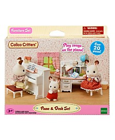 Calico Critters - Piano And Desk Set