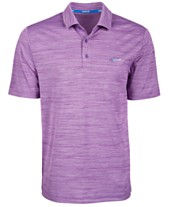 Attack Life by Greg Norman Men s 5 Iron Space-Dye Performance Golf Polo 20e678b9f0e6f