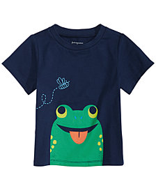 First Impressions Toddler Boys Toad-Print T-Shirt, Created for Macy's