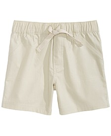 Toddler Boys Cotton Twill Shorts, Created for Macy's