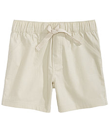 First Impressions Toddler Boys Cotton Twill Shorts, Created for Macy's