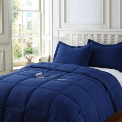 Water and Stain Resistant Microfiber Comforter Mini Set