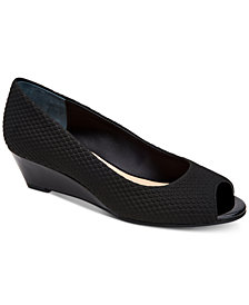 Alfani Women's Step 'N Flex Cammi Wedges, Created for Macy's