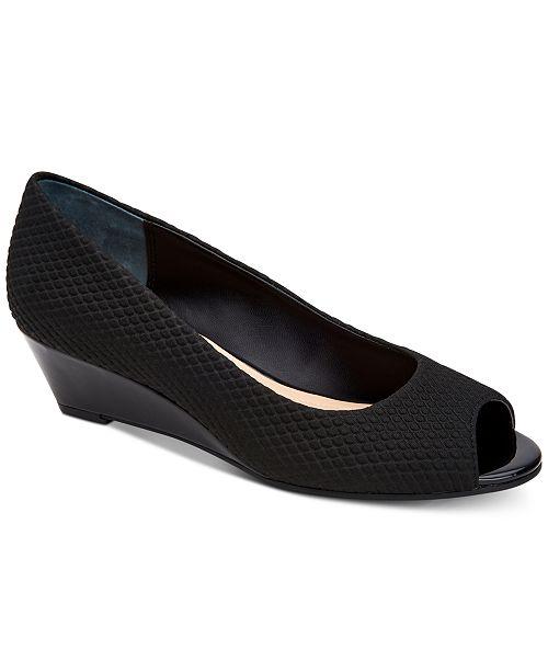 Alfani Women's Step 'N Flex Cammi Wedges, Created for Macy's