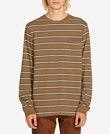 Volcom Men's Ferguson Striped Shirt