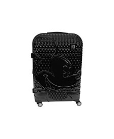 "FUL Disney Textured Mickey 21"" Hardside Spinner Suitcase"