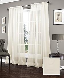 Carrington 52'' x 95'' Sheer Window Curtain Panel