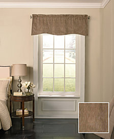 Beautyrest 52'' x 18'' Barrou Blackout Wave Window Valance