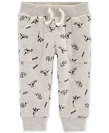 Carter's Baby Boys Cotton Dinosaur Jogger Pants