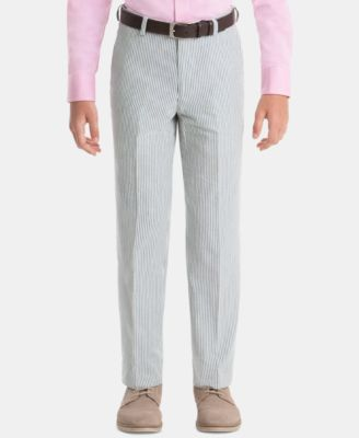 Big Boys Cotton Dress Pants