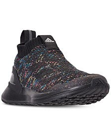 adidas Little Boys' RapidaRun Laceless Knit Running Sneakers from Finish Line