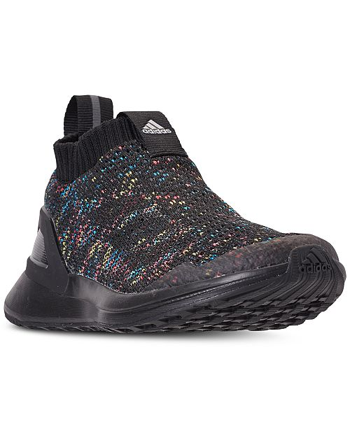 468a6f56c4d7 ... adidas Little Boys  RapidaRun Laceless Knit Running Sneakers from  Finish ...