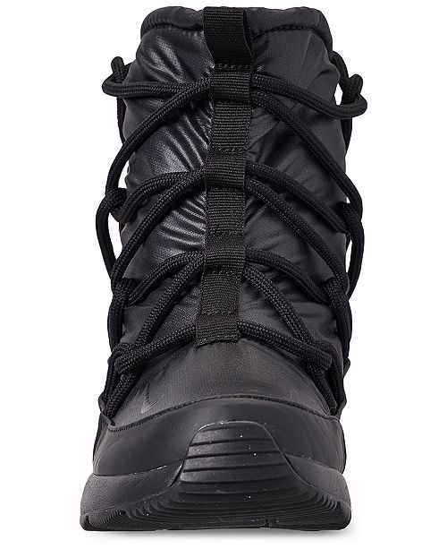 42c373f413bf ... Nike Women s Tanjun High Rise High Top Sneaker Boots from Finish ...