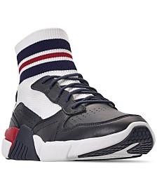 Mark Nason Los Angeles Block - Varsity  High Top Casual Sneakers from Finish Line
