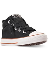 c55d3589cb38 Converse Little Boys  Chuck Taylor All Star Street Mid Casual Sneakers from  Finish Line