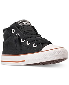 Converse Little Boys  Chuck Taylor All Star Street Mid Casual Sneakers from  Finish Line 2f804dab5