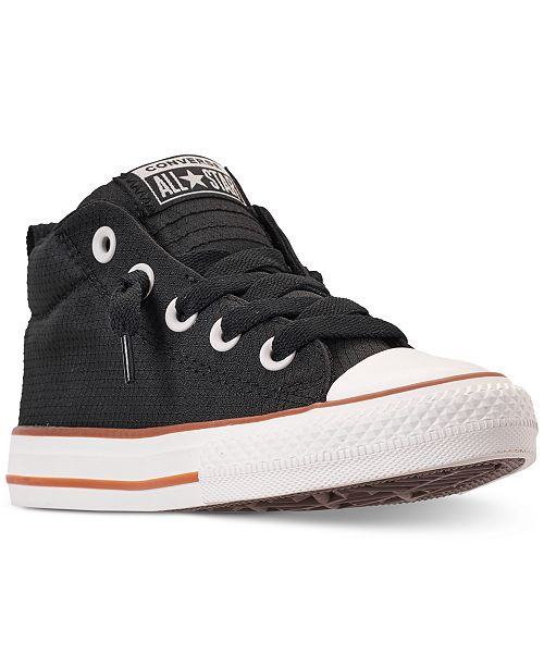 ce6e8e02479e Converse Little Boys  Chuck Taylor All Star Street Mid Casual ...