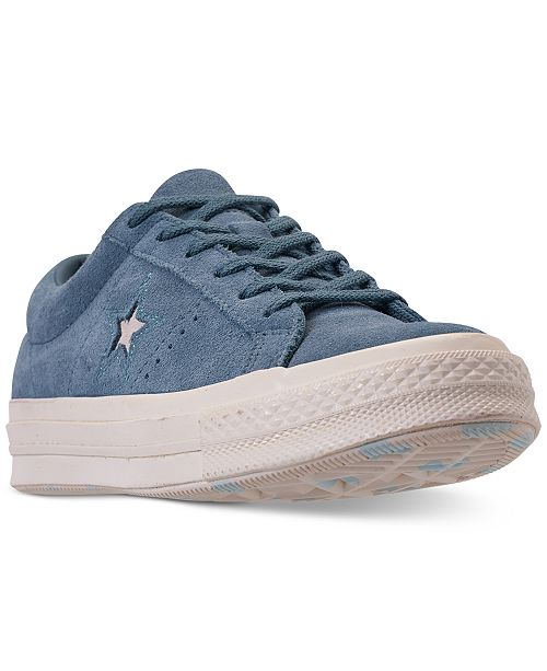 60bff9766a2eb4 ... Converse Unisex Chuck Taylor One Star Low Casual Sneakers from Finish  Line ...