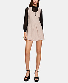 BCBGeneration Layered-Look Collared Dress