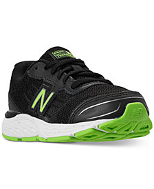 New Balance Boys' 680v5 Wide Width Running Sneakers from Finish Line