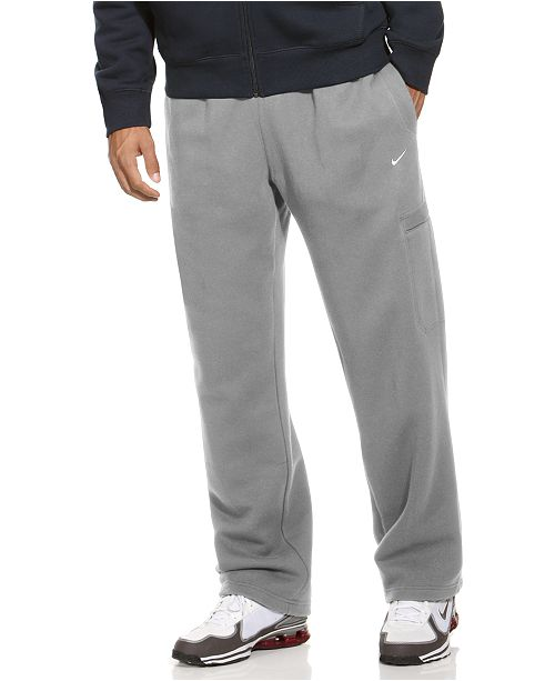 032e45b6f4d54a Nike Men s Classic Fleece Sweatpants   Reviews - Pants - Men - Macy s