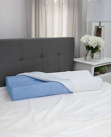 SensorGel Cold Touch Contour Gel-Infused Memory Foam Pillow - King