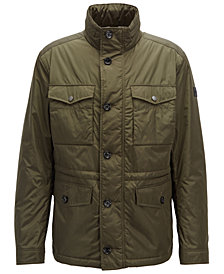 BOSS Men's Water-Repellent Field Jacket