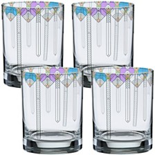 Frank Lloyd Wright April Showers Double Old Fashioned Glass