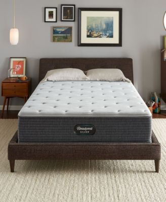 "BRS900-TSS 12"" Plush Tight Top Mattress - Twin, Created for Macy's"