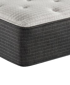 "Beautyrest Silver BRS900-C-TSS 14.5"" Medium Firm Tight Top Mattress - Queen, Created For Macy's"