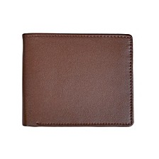 Bifold Wallet with Zippered Coin Slot