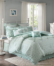Madison Park Mindy Cotton 9-Pc. King Comforter Set