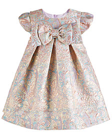 Bonnie Baby Baby Girls Brocade Party Dress