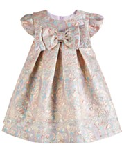 d0e3c5661 Bonnie Baby Baby Girls Brocade Party Dress