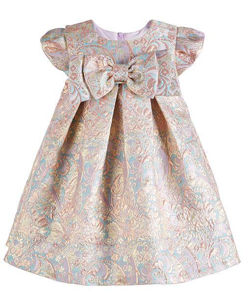 6d4e3f543 Bonnie Baby Baby Girls Brocade Party Dress & Reviews - Dresses ...