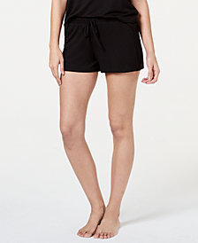 Jenni Drawstring Pajama Shorts, Created for Macy's