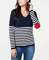 Tommy Hilfiger Patch Elbow Colorblocked Sweater 0fad0b51667